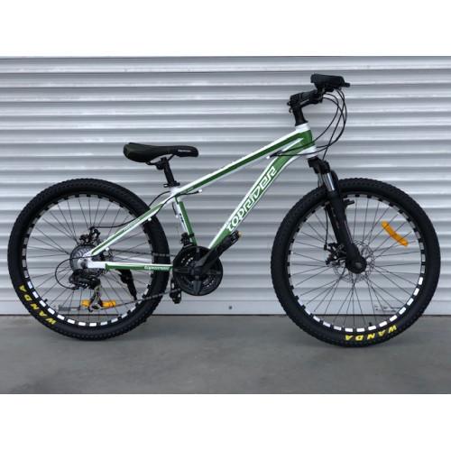 """Горный Велосипед TopRider 24 дюймов""""680"""" бело-зеленый"""