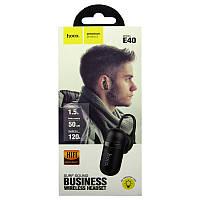 Bluetooth гарнитура HOCO E-40 Black(на одно ухо)