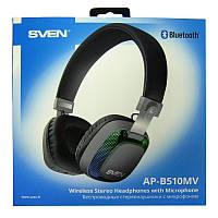 Bluetooth наушники SVEN AP-B510MV v4.2 с микрофоном,подсветка