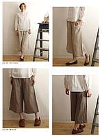 Костюм з натурального льону, комплект штани і туніка (можна окремо). Колір, розмір на вибір до 80, фото 1