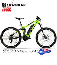 Электровелосипед 27.5 HAIBIKE SDURO FullSeven LT 4.0 двухподвес рама M зеленый (4540252944)