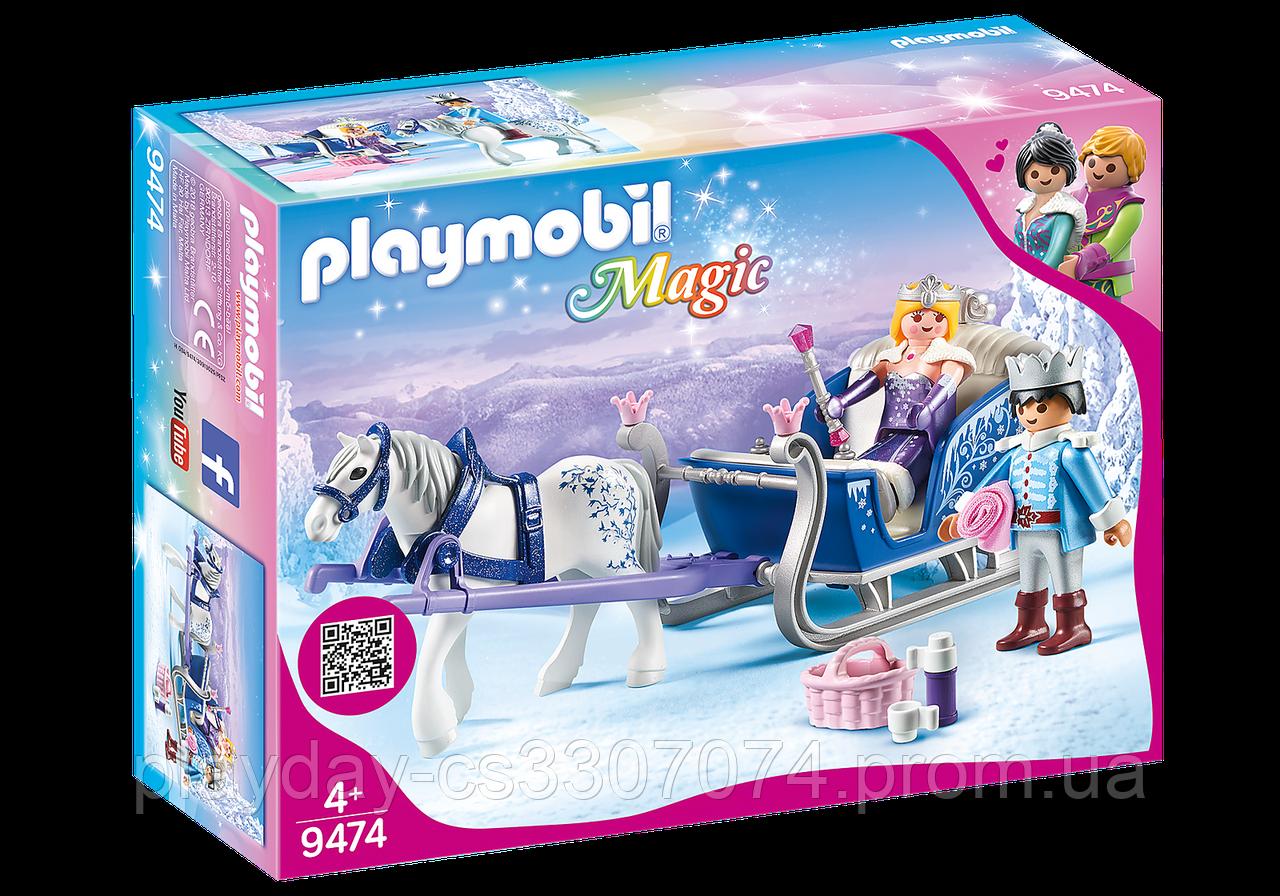Игровой набор Playmobil Королевская пара в карете