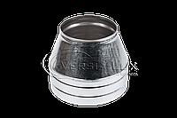 Конус дымоходный нерж/оцинк ø220/280мм