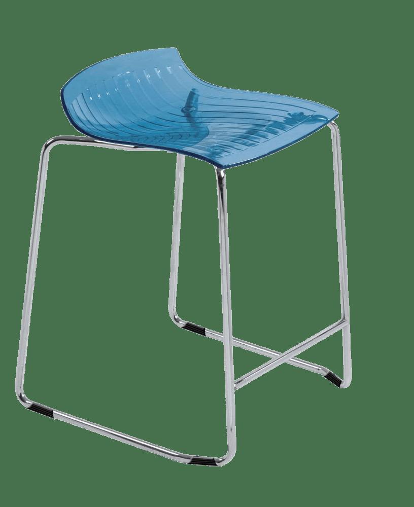 Барне крісло Papatya X-Treme Sled прозоро-синій