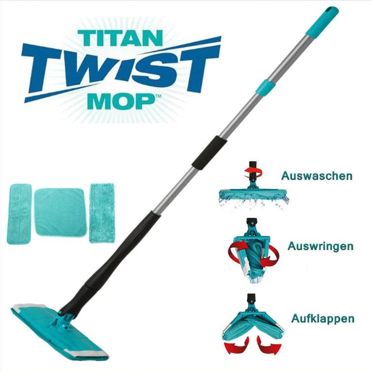 Швабра з віджиманням Titan Twist Mop