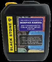 Black Stone - пропитка для тротуарной плитки, эффект мокрого камня 5 л