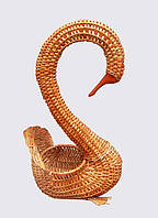 Корзина-подставка  Лебедь, фото 1