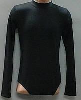 Купальник гимнастический со стойкой воротник (вискоза,вискоза+полиамид)(р.28-38), фото 1