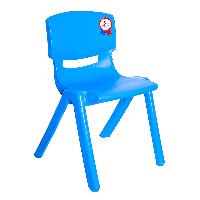 Стул детский Irak Plastik Jumbo №2 синий