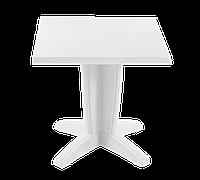 Стол квадратный Papatya Браво 70x70 белый