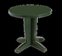 Стол круглый Papatya Браво 80 зеленый, фото 1