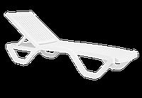 Шезлонг лежак Papatya Myra білий, фото 1