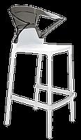 Барне крісло Papatya Ego-K біле сидіння, верх прозоро-димчастий, фото 1