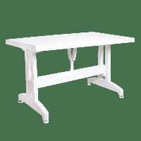 Стол прямоугольный Irak Plastik 70x120 белый