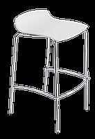 Барный стул Papatya X-Treme BSS матовый белый, фото 1