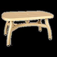 Стол овальный Irak Plastik King 90x150 тик