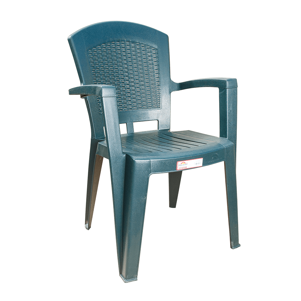 Крісло Irak Plastik Afrodit зелене
