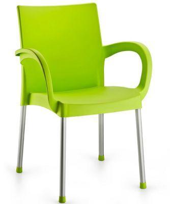 Кресло Irak Plastik Sumela алюминиевые ножки салатовый