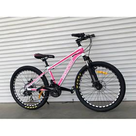 """Гірський Велосипед TopRider 24 дюймів""""680"""" рожевий"""