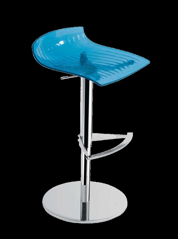 Барне крісло Papatya X-Treme B прозоро-синій