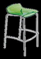 Барный стул Papatya X-Treme BSS прозрачно-зеленый, фото 1