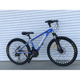 """Гірський Велосипед TopRider 24 дюймів""""680"""" синій"""