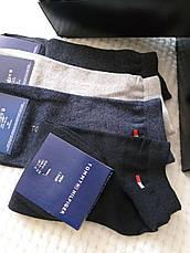 Набір шкарпеток Tommy Hifiger 9 пар в подарунковій упаковці . Чоловічі шкарпетки, фото 3