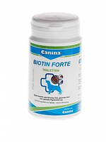 Интенсивный курс для шерсти собак Canina Biotin Forte, 60 таблеток / 200 г