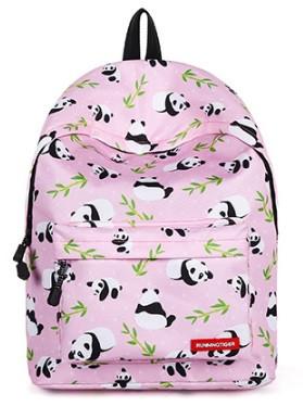Рюкзак женский Панды Розовый RT
