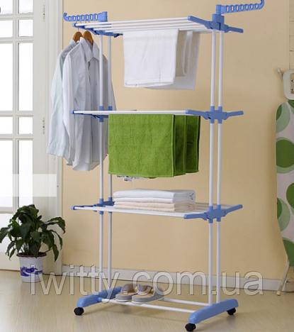 Сушка для белья складная Garment rack, фото 2