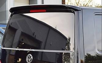 Спойлер козырек на багажник Volkswagen T6 на ляду
