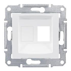 Накладка Schneider-Electric Sedna для коннекторов 1-модуль UTP кат. 6 кат.5е