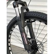 """Гірський Велосипед TopRider 26 дюймів""""680"""" біло-рожевий, фото 3"""