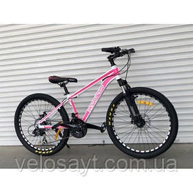 """Горный Велосипед TopRider 26дюймов""""680"""" розовый"""