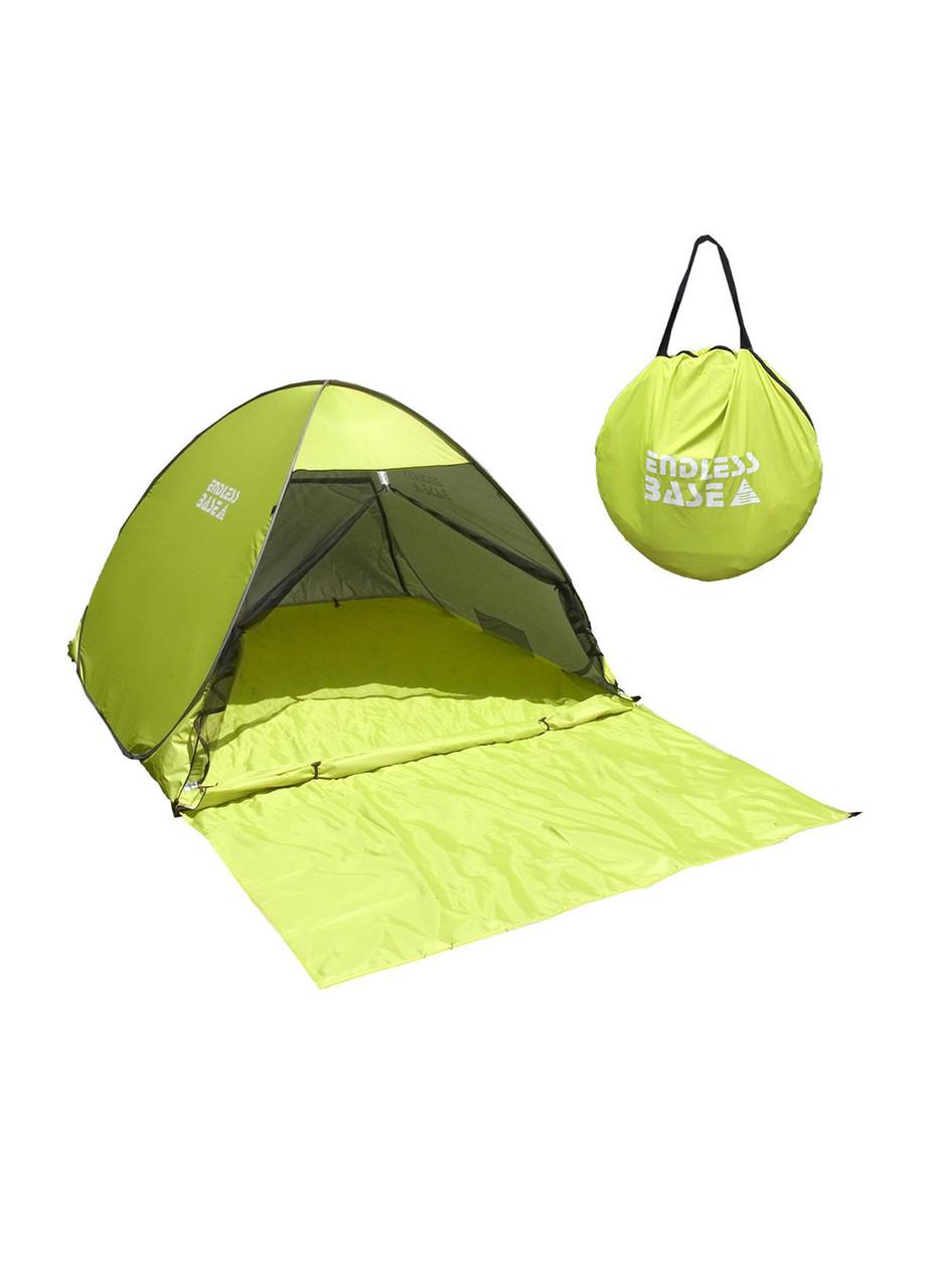 Палатка автомат Endless Base 145х135х140см Салатовый