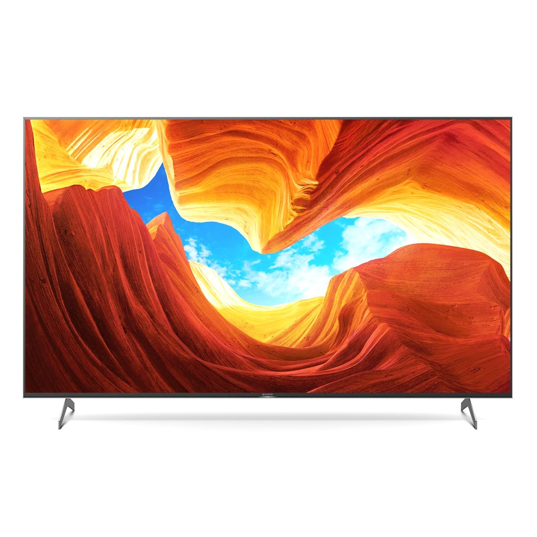 Телевізор Sony KD-65XH9096 (4K HDR процесор X1,TRILUMINOS™ Display, Повна пряма підсвічування, Android TV)