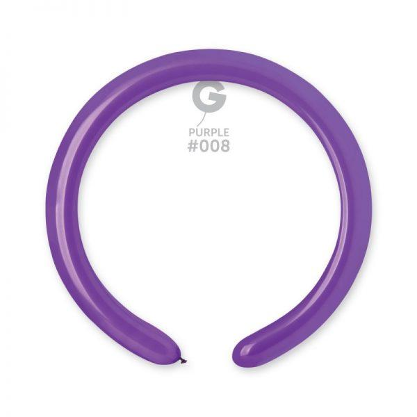 Латексні кульки для моделювання (ШДМ) фіолетовий 350/008 Gemar