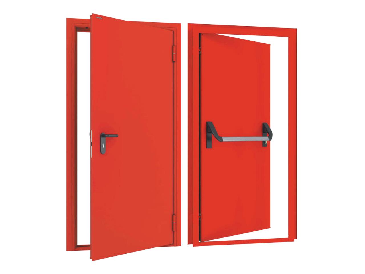 Одностворчатые противопожарные двери DoorHan