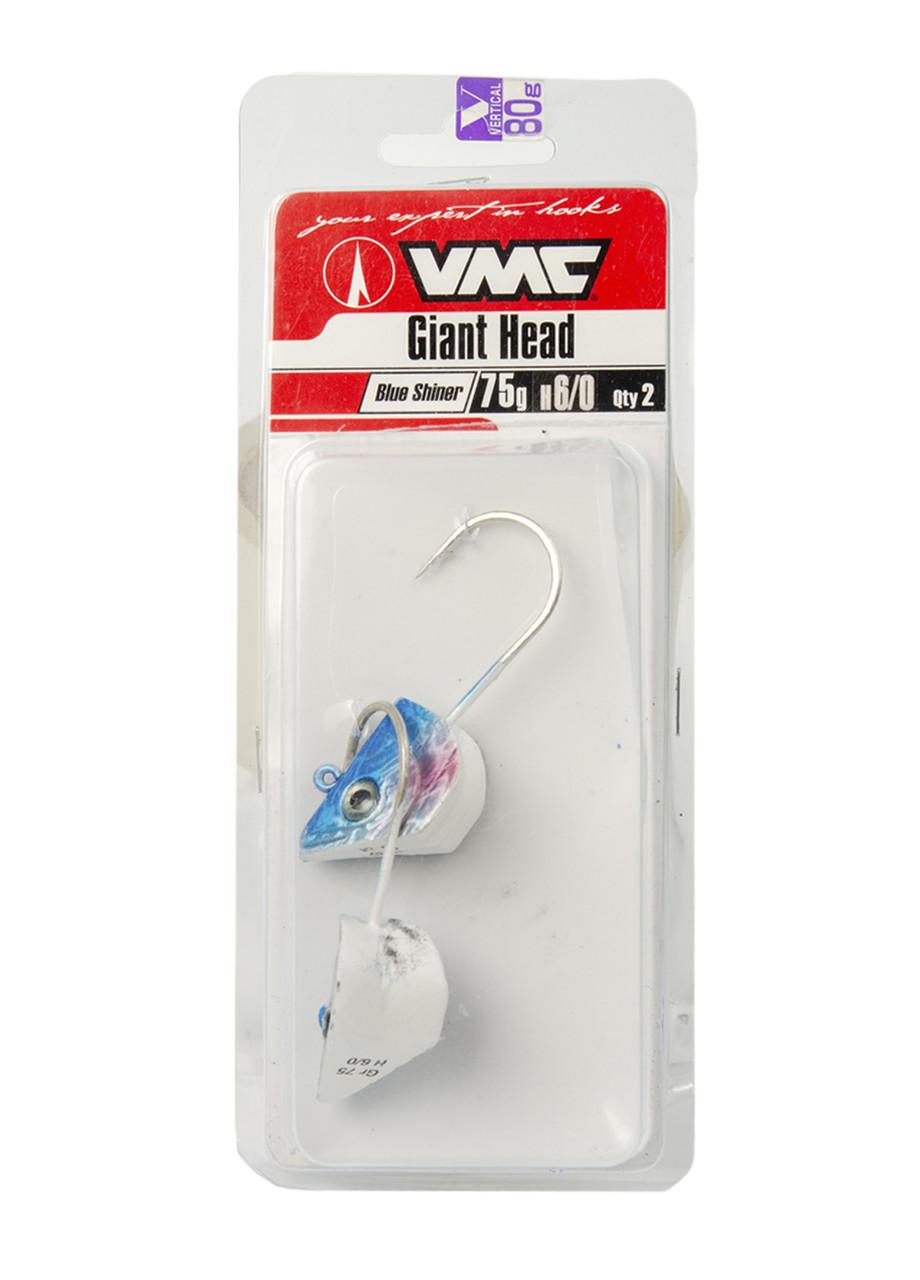 Джиг головки (2шт) 75гр VMC 8см Синий, Белый