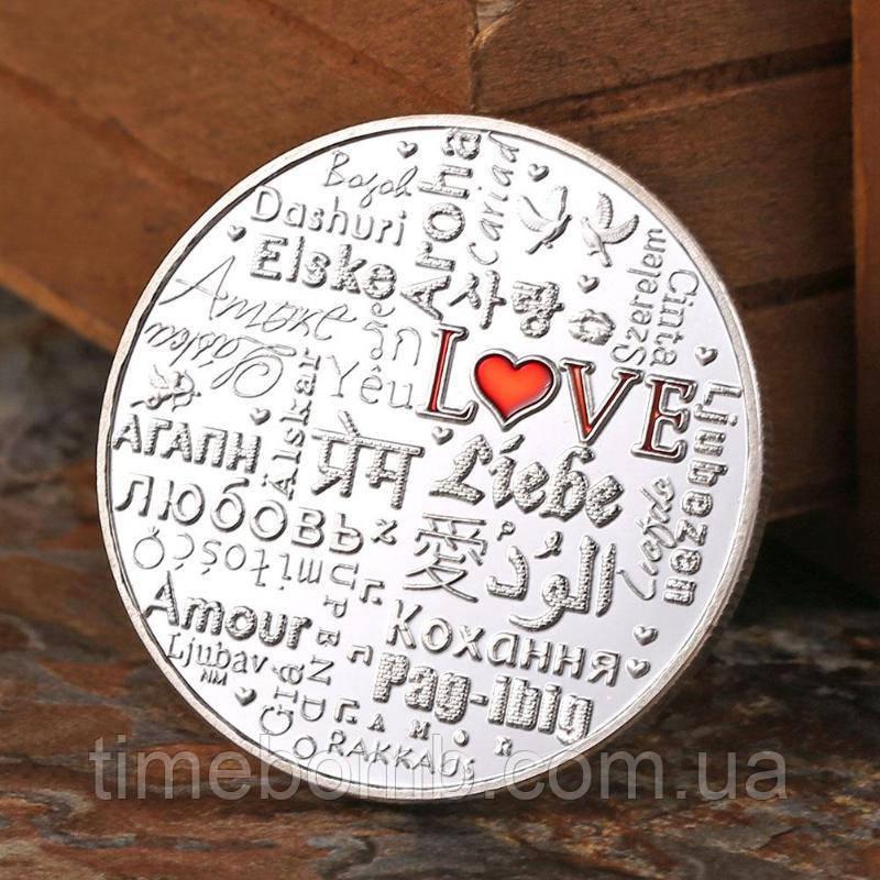 Сувенирная монета ''Love''