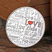Сувенирная монета ''Love'', фото 1