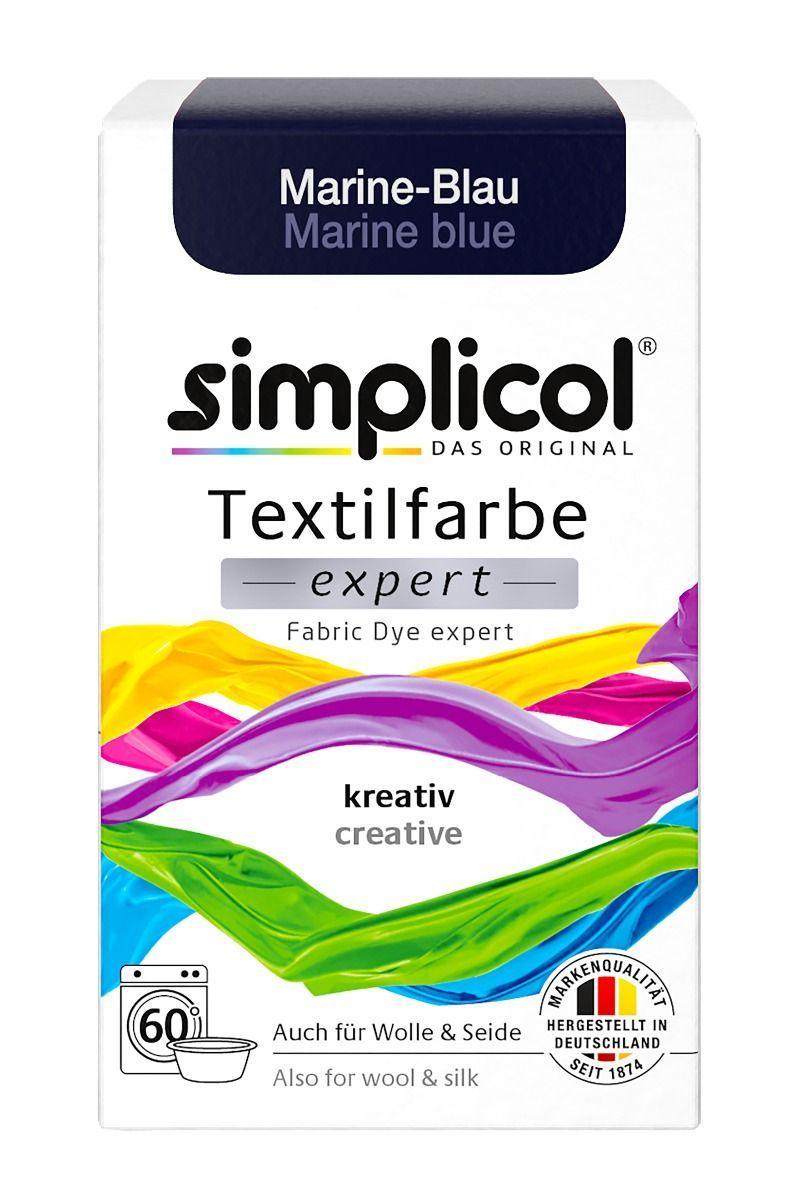 Краска Simplicol для смены цвета 150г темно-синяя