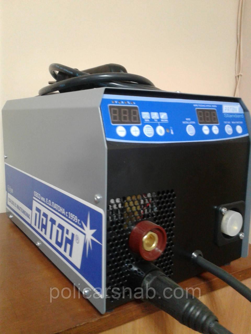 Інверторний цифровий напівавтомат ПАТОН™ ПСІ-200S (5-2) DC MIG\MAG\MMA\TIG