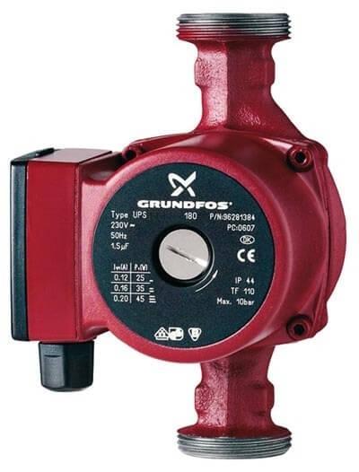 Циркуляційний насос для систем опалення Grundfos UPS 25-40 180