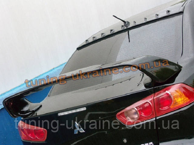 Спойлер (EVO-style) на Mitsubishi Lancer X