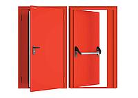 Двухстворчатые противопожарные двери DoorHan, фото 1