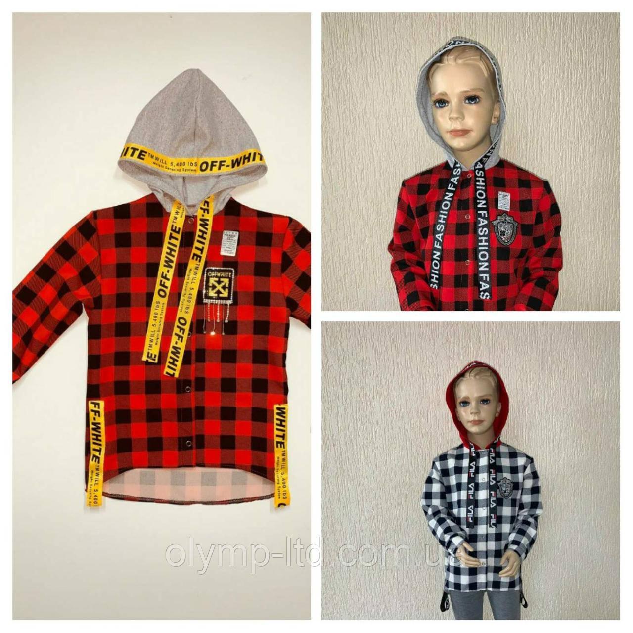 Рубашка для девочки подростка 34-42 р-р костюмка капюшон нашивка ленты кнопки.