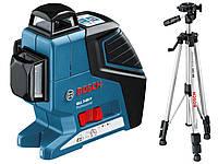 Нивелир лазерный Bosch GLL 3-80 P SET (уровень)