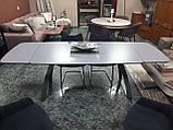 Раскладной обеденный стол LONDON керамика мокрый асфальт Nicolas (бесплатная адресная доставка), фото 7