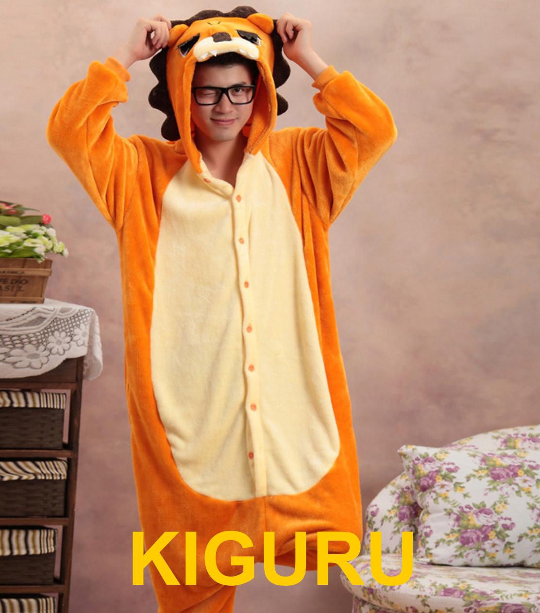 Пижама кигуруми косплей лев